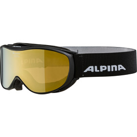 Alpina Challenge 2.0 Multimirror S2 Gogle, black gold